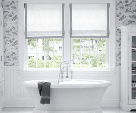 Unique Bathroom Window Treatments 10