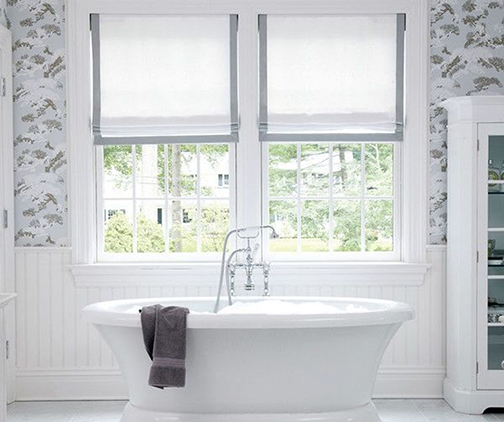 9 Bathroom Window Treatment Ideas