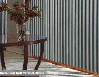Cadence Soft Vertical Blinds - Regal Motif 2